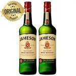 Kit com 2 Whisky Irlandês Jameson Standard Garrafa 750ml