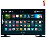 Smart TV LED 32' Samsung UN32J4300 HD com Wi-Fi 1 USB 2 HDMI Conversor Digital Screen Mirroring e 60Hz