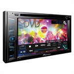 Som Automotivo AVH-298BT DVD Player, 2-DIN, Tela 6.2', USB, Bluetooth, Entrada Câmera de Ré, Interface Ipod/Iphone - Pioneer