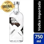Vodka Sueca Vanilia Garrafa 750ml - Absolut
