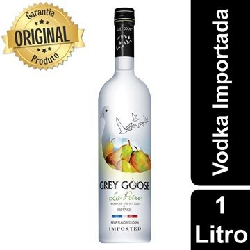 Vodka Francesa La Poivre Garrafa 750ml - Grey Goose